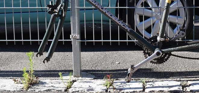 fietsband gestolen